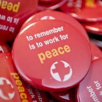 peace buttons