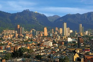 Bogota, the capital of Colombia