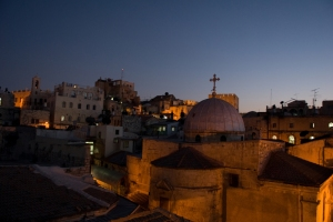 A church in the Old City of Jerusalem.  MCC photo
