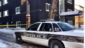 The police are frequent visitors on Furby Street. Photo credit ctvnews.ca.