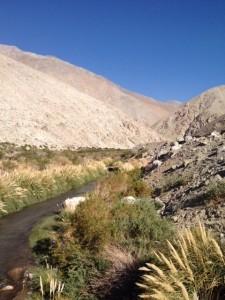 Huasco River valley