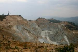 The Marlin Mine,  San Marcos, Guatemala.  Photo by Anna Vogt