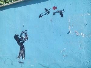 Street art in Kabul.