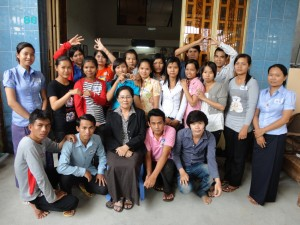 Women peacemakers Cambodia