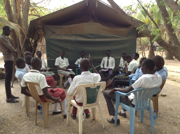Peace Club members facilitate Listening Circle for other secondary school students_2