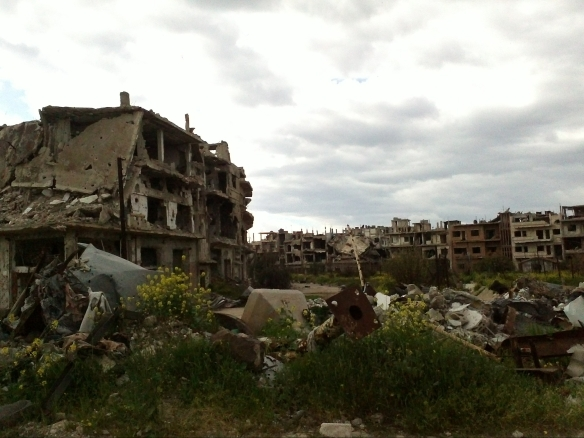 Homs old city