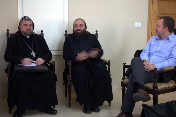 Syria and Lebanon, bishops and Garry