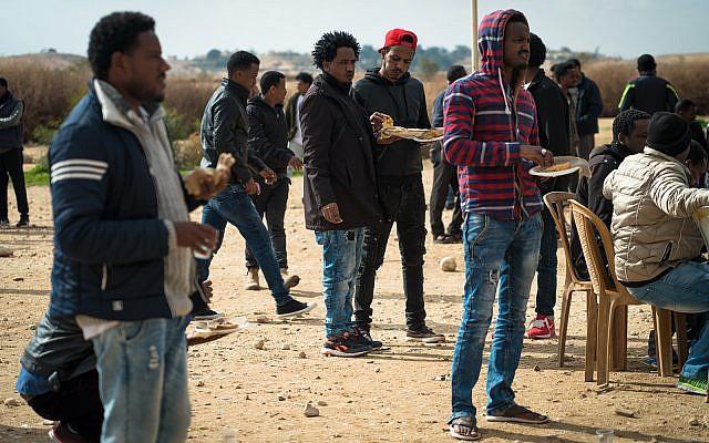 Eritrean asylum seekers in Israel