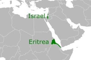 Israel-Eritrea Map (002)