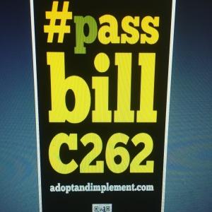 Bill C262 poster