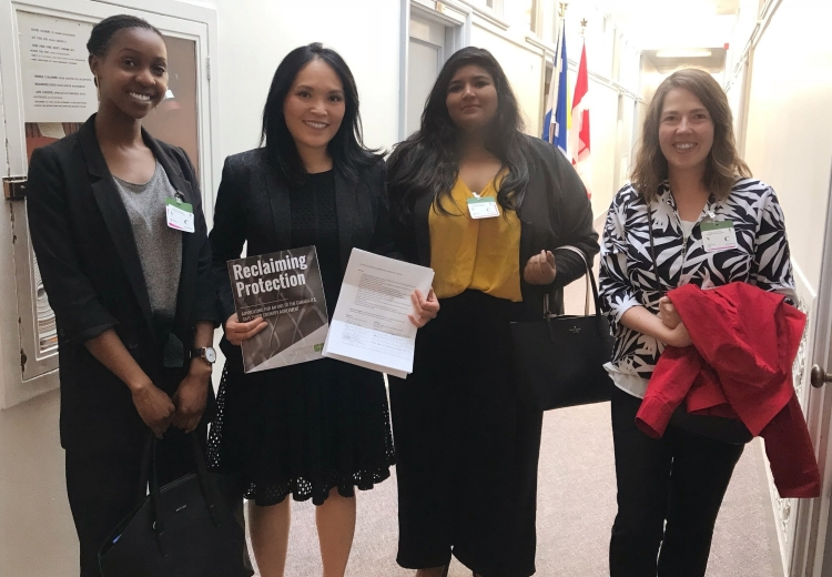 Photo MP Jenny Kwan and CPJ staff and Anna Sept 24 2018